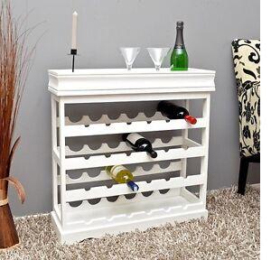 Portabottiglie In Legno Bianco.Dettagli Su Cantinetta Portabottiglie Vino 24 Bottiglie In Legno Bianco