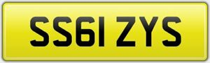 IZYS-REG-NUMBER-PLATE-NO-HIDDEN-FEES-PAID-SS61-ZYS-IZZY-IZ-ISSY-ISOBEL-ISABEL