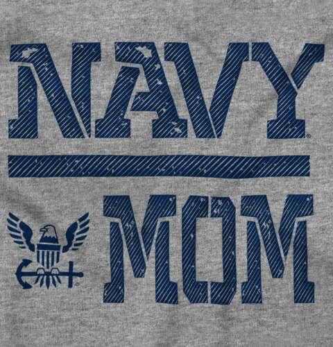 US Navy Proud Mom Mothers Day Military Family Crewneck Sweat Shirts Sweatshirts