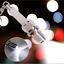 LED Mini keychain flashlight Key Chain Spark Plug Keychain Car Parts Keyring New