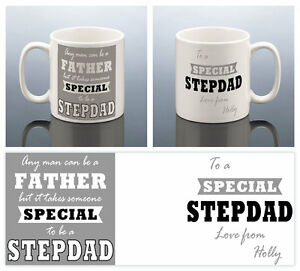 Image Is Loading STEPDAD MUG PERSONALISED Stepfather Gift Best Step Dad