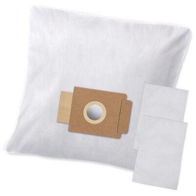 2 Filter 10 Staubsaugerbeutel für EIO Vinto 1700 Staubbeutel Filtertüten