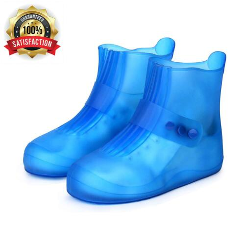 Pastaza Waterproof Shoes Covers For Womens Mens Non Slip Durable Short Rain Boot