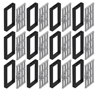 LEGO White 1x4x6 Frame with White Door Piece