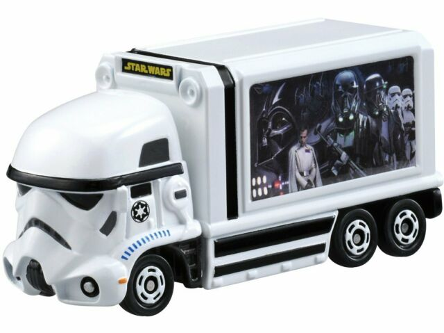 TakaraTomy Tomica Star Wars Star Cars Storm Trooper Ad Truck from Japan