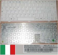 TECLADO QWERTY ITALIANO ASUS EEEPC EEE PC 1000 V021562EK1 04GNQV2KIT00 Blanco