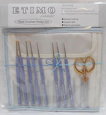 """Tulip /""""ETIMO Bouquet Lace/"""" Häkelnadel Set 0,5-1,75mm TEB-001E Limited Edition"""