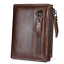 Men-039-s-Genuine-Leather-Cowhide-Bifold-Wallet-Credit-Card-ID-Holder-Zipper-Purse thumbnail 17