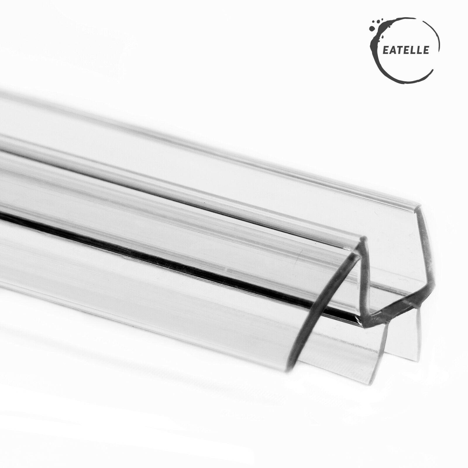 Eatelle 1 4 Inch 6mm Frameless Shower Door Sweep Bottom Seal Wipe Drip Rail 36 L