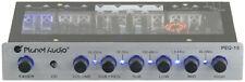 Planet Audio PEQ15 5 Band Equalizer Aux Input Master Volume Control