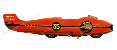 """THE WORLDS FASTEST INDIAN 1920 SCOUT DIGITALLY CUT OUT VINYL STICKER 12/"""" X 3/"""""""