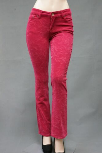 Womens easy fit stretch Jeans pants straight leg Ultra stretch SG-11666-ROSE
