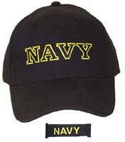 U.S. Navy Large Embroidered Letters Officially Licensed Baseball Cap Hat