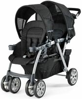 Chicco Cortina Together Twin Baby Double Stroller Ombara