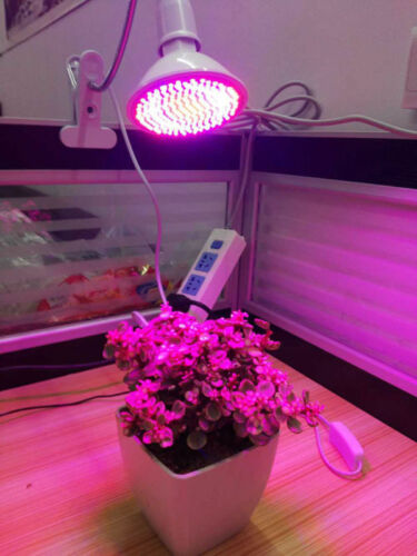 200 DEL Plant Grow Light Lampe clip pour Fleur Indoor Hydro Graines Légumes Serre