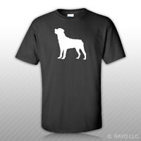Rottweiler T-Shirt Tee Shirt Gildan S M L XL 2XL 3XL Cotton dog canine pet