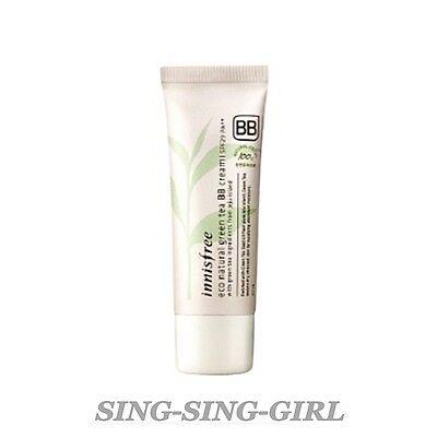 Innisfree Eco Natural Green Tea BB Cream #2 Natural Beige 40ml sing-sing-girl