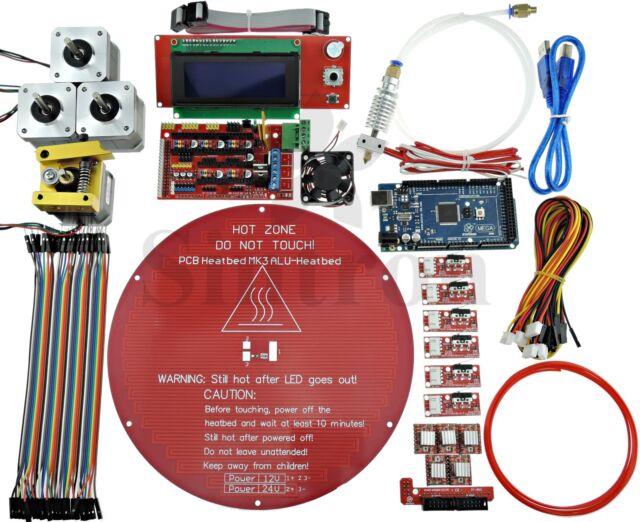 Kossel Mini Electronic Full Kit for Rostock Delta 3D Printer Bowden MK8 Extruder