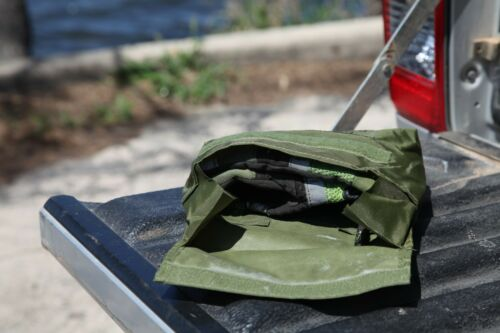 Small Storage Bag Navy Surplus New never used Camping 4wd.