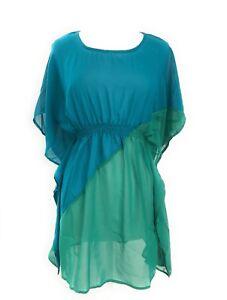 Ladies-Beach-Cover-up-Swim-Wear-Dolman-Sleeve-Tunic-Top-Dress-NWT-Sizes-S-M-L
