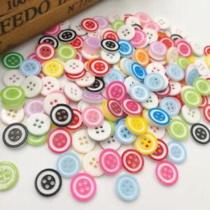50-100pcs-Mix-Plastic-Buttons-Sewing-Appliques-Baby-039-s-Crafts-PT94