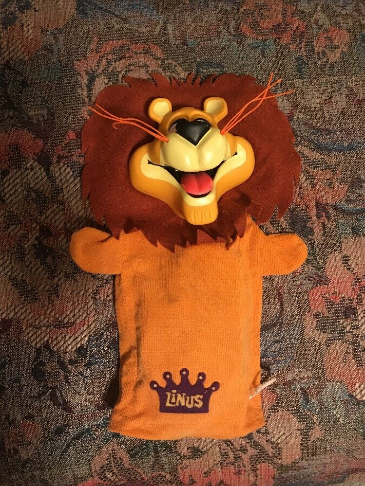 1965 Linus the Lionhearted Pull String Talker By Mattel RestGoldt To Talk Cleaned