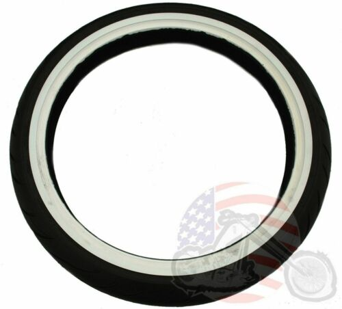 New Avon Cobra 120//70-21 WWW Wide White Wall Whitewall Front Tire Harley Touring