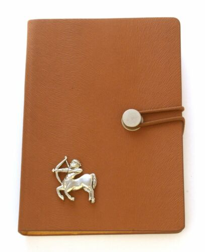 Sagitario El Arquero Notebook A6 tamaño libro de viajes de regalo de cumpleaños