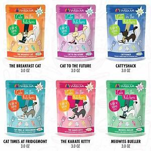 Details About Weruva Cats In The Kitchen Slide N Serve Grain Free Wet Pate Cat Food Pouches