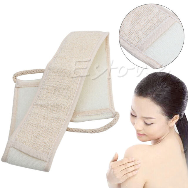 Exfoliating Loofah Loofa Body Sponge Back Strap Bath Shower Body Scrubber Brush