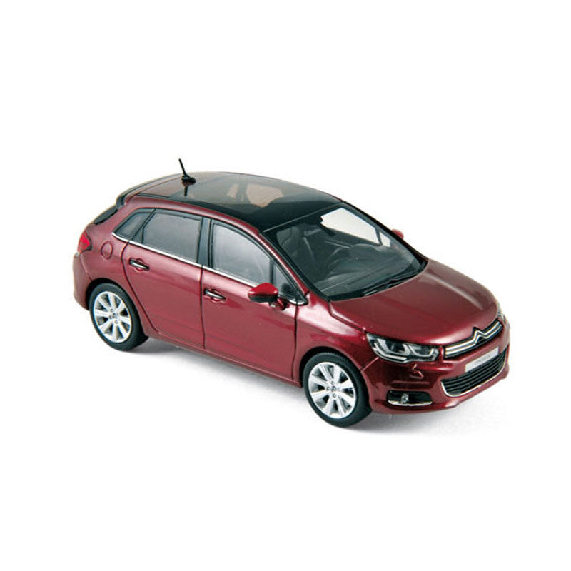 Norev 155444 Citroen C4 Dark Red 2015 Scale 1 43 MODEL CAR NEW  °