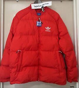 Détails sur Homme Adidas Originals SST Down Doudoune rouge vif taille M afficher le titre d'origine