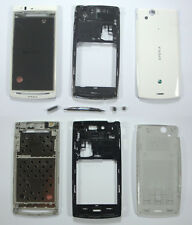 OEM White Full Cover Housing Case For Sony ERICSSON Xperia Arc LT18i LT15i X12