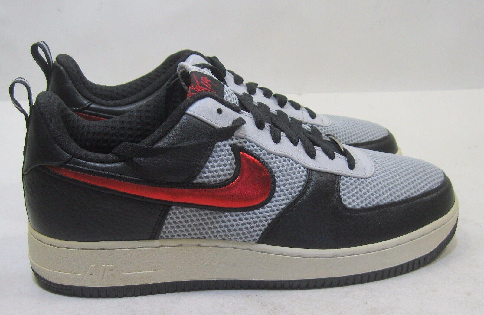 Nike air force 1 basso premio 318775-061 argento metallico / vrsty red taglia