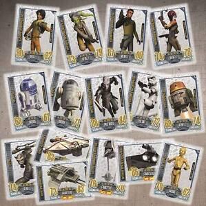 Topps-Star-Wars-Rebel-Attax-Limitierte-Auflage-aussuchen-Neu