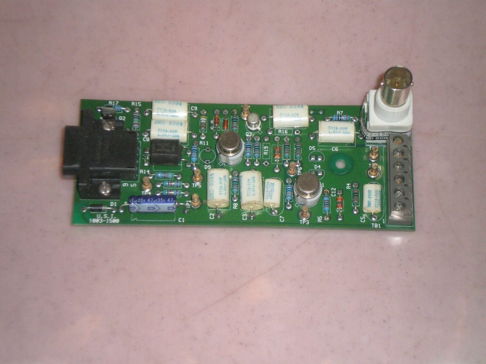 U.S.I. 1003-1500 Circuit Board PCB Free Shipping  USI 1003-1500-012
