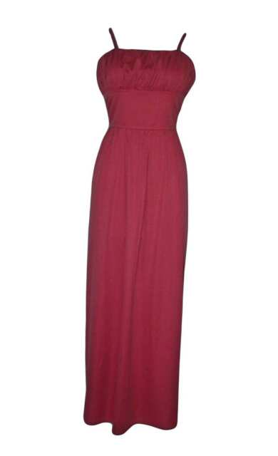 WOMENS/LADIES VINTAGE CLOTHES 1940'S GENE TIERNEY STYLE ROSE PINK MAXI DRESS, 14