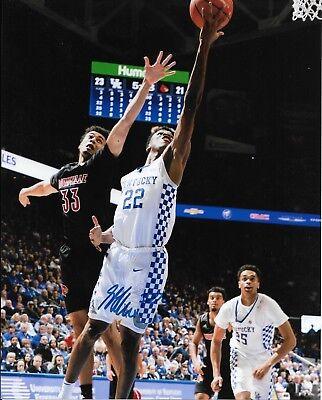 Autographs-original Basketball-nba Shea Gilgeous Alexander Signed Autographed Kentucky Wildcats 8x10 Photo W/coa