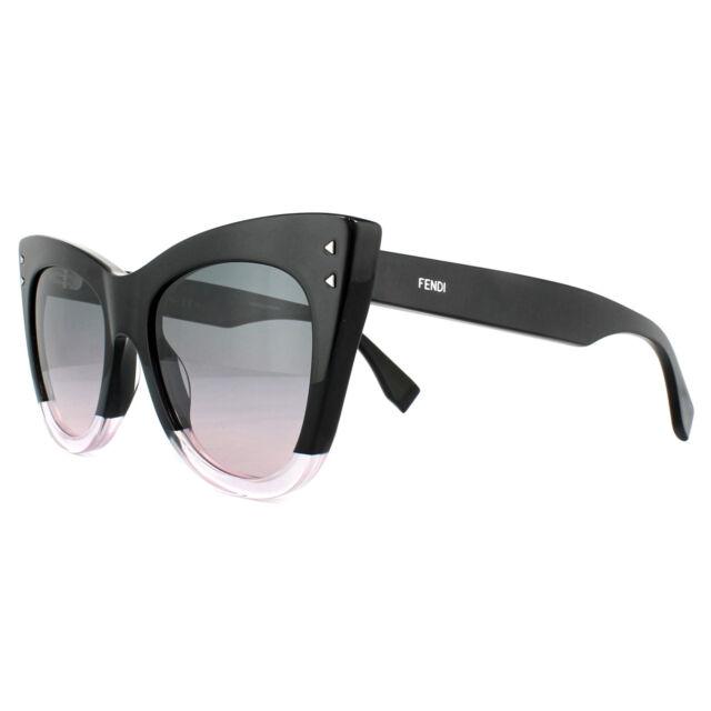 e119317870f Fendi Sunglasses Colour Block FF 0238 s 3h2 JP Black Green Pink Gradient  for sale online