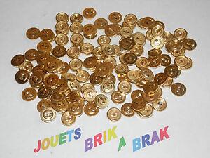 Lot-de-Boutons-buttons-Vintage-Dores-diametre-12mm-choose-quantity