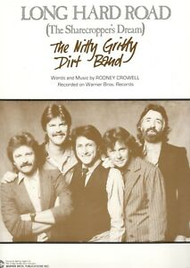 THE-NITTY-GRITTY-DIRT-BAND-034-LONG-HARD-ROAD-034-SHEET-MUSIC-THE-SHARECROPPER-039-S-DREAM