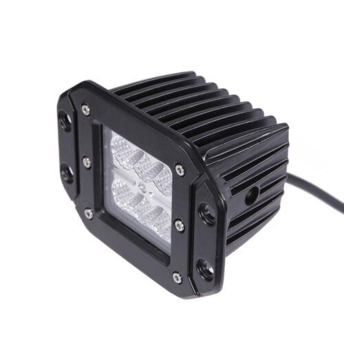 4PCS Flush Mount Led Cube Work Light Bar Front Bumper Lamp For Ford F150//250//350