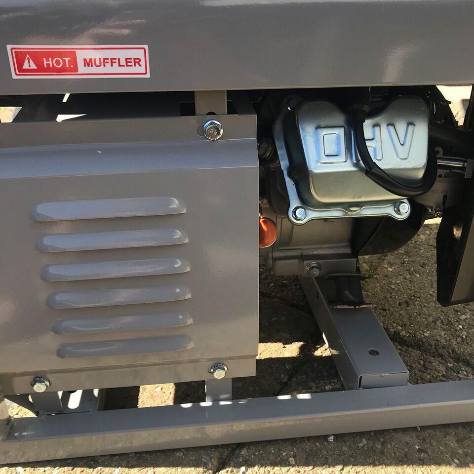 Benzin generator, Power