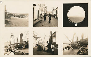 WWII-1945-GI-039-s-returns-home-USS-Enterprise-Operation-Magic-6-Photo-sheet-3