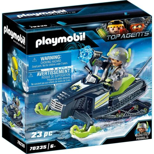 PLAYMOBIL 70235 Arctic Rebels Eisscooter Top Agents
