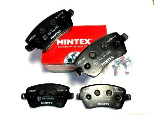 Véritable Mintex plaquettes frein avant pour Dacia Renault Nissan MDB2595 livraison gratuite