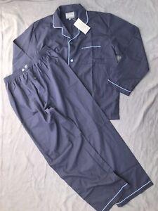 Men-s-size-L-navy-pyjama-set-by-Harbour-Bay-NEW-TAGS