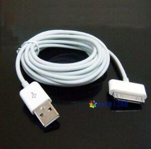 10ft-USB-Data-Sync-Charge-Cable-Adapter-for-Apple-iPad-2-iPhone-4-4S-3GS-iPod-LI