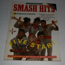 Smash Hits Magazine sept 1987  uk version Madonna jesus and mary chain morrissey