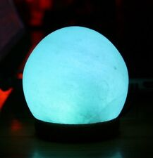 Mini Himalayan LED Salt Globe Lamp Color Changing Crystal Lamp Air Purifier.